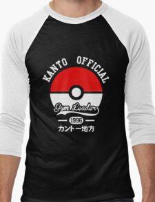 Pokeball Pokemon Men's Baseball ¾ T-Shirt