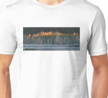 Frosty morning in Algonquin Park, Canada Unisex T-Shirt