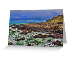 Northern Ireland. Giant's Causeway. Greeting Card