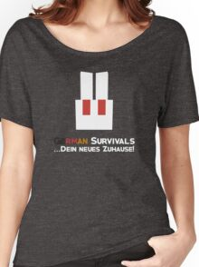 German Survivals Minecraft Server Logo Women's Relaxed Fit T-Shirt