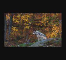 Lone Wolf - Timber Wolf Kids Tee