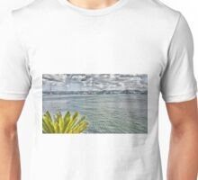 the river in Lisbon Unisex T-Shirt