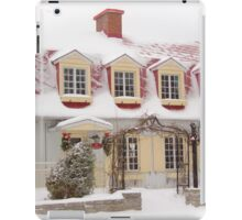 Yesteryear Home iPad Case/Skin