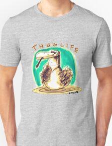 cartoon style cool duck thuglife Unisex T-Shirt