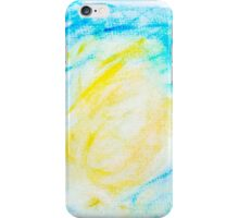Abstract water color textured background iPhone Case/Skin
