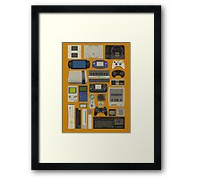 The console story Framed Print