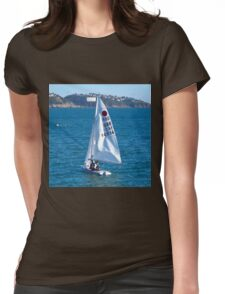 Fireball Dinghy Womens Fitted T-Shirt