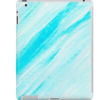 Abstract water color textured background iPad Case/Skin