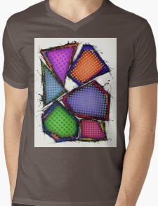 Balancing act Mens V-Neck T-Shirt
