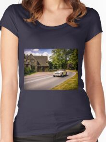 Classic drive. Women's Fitted Scoop T-Shirt