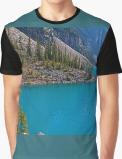 Canada. Canadian Rockies. The magic of Moraine Lake. Graphic T-Shirt