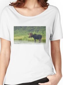 Bull Moose - Algonquin Park, Canada Women's Relaxed Fit T-Shirt