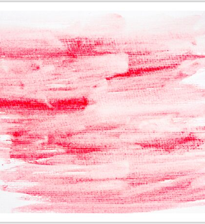 Red abstract water color textured background  Sticker