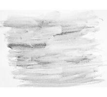 Monochrome abstract water color background  Photographic Print