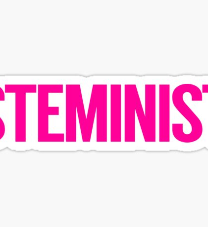 STEMinist Sticker
