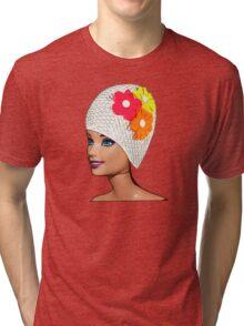 Vintage Swimmer! Tri-blend T-Shirt