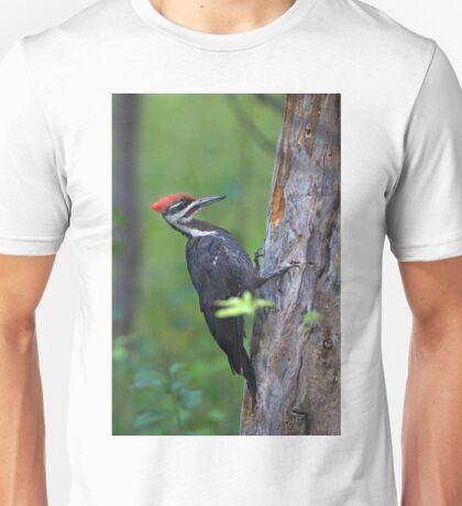 Pileated Woodpecker Portrait Unisex T-Shirt