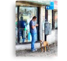 Pay Phone Canvas Print