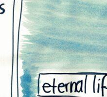 1 John: Eternal life Sticker