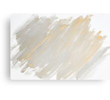 Monochrome abstract water color background  Canvas Print