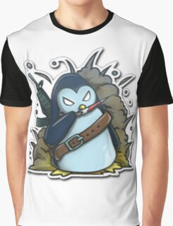 War penguin Graphic T-Shirt