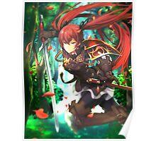 Fire Emblem Fates - Luna / Selena Poster