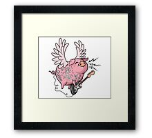 Pigs Rock! Framed Print