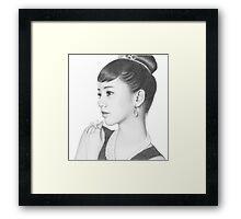 Girl's Day - Hyeri Framed Print
