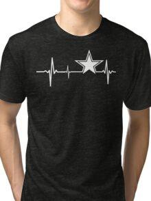 Dallas Cowboys Heartbeat Tri-blend T-Shirt