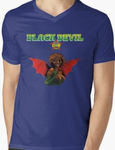 Bernard Fevre - Black Devil Disco Club Mens V-Neck T-Shirt