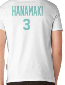 Haikyuu!! Jersey Hanamaki Number 3 (Aoba) Mens V-Neck T-Shirt
