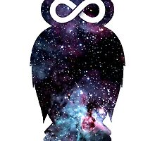 Super Cosmic Owlfinity by Jonah Block