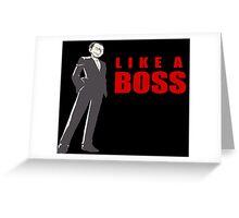 Giovanni - Like A Boss Greeting Card