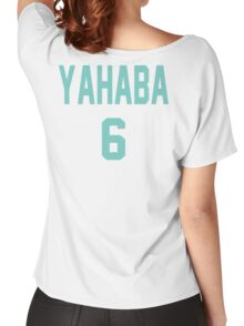 Haikyuu!! Jersey Yahaba Number 6 (Aoba) Women's Relaxed Fit T-Shirt