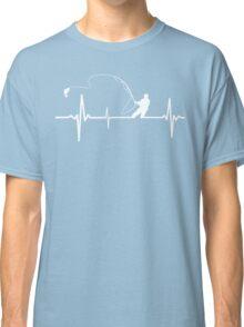 Fishing heartbeat Classic T-Shirt
