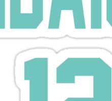 Haikyuu!! Jersey Kindaichi Number 12 (Aoba) Sticker