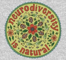 Neurodiversity Mandala  One Piece - Long Sleeve