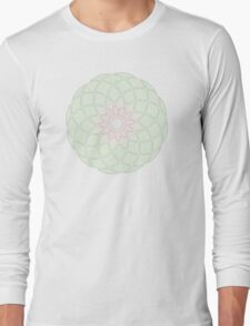 Sacred Geometry: Spring Mandala Long Sleeve T-Shirt