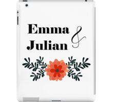 Emma and Julian iPad Case/Skin