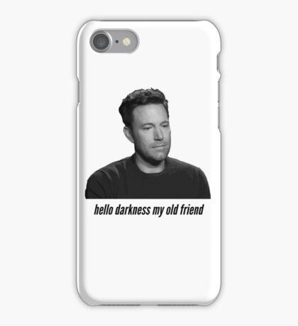 Sad Ben Affleck iPhone Case/Skin