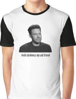 Sad Ben Affleck Graphic T-Shirt