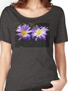 wet n wild flower's  Women's Relaxed Fit T-Shirt