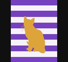 Orange cat Womens Fitted T-Shirt