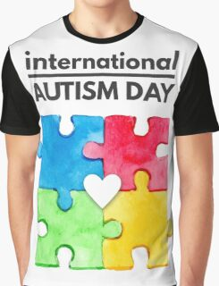 International Autism day Graphic T-Shirt