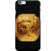A Friendly Chat In Front Of The Roaring Fire, Surrounded By More Rats And Bats iPhone Case/Skin