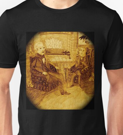 A Friendly Chat In Front Of The Roaring Fire, Surrounded By More Rats And Bats Unisex T-Shirt