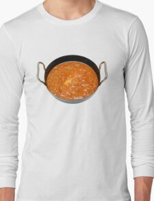 Balti Butter Chicken in Karahi Long Sleeve T-Shirt