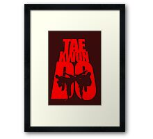 Taekwondo Mountain - Korean Martial Art Framed Print