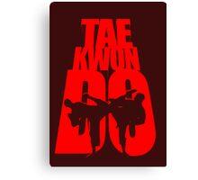 Taekwondo Mountain - Korean Martial Art Canvas Print