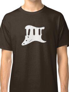 Guitar White Pickguard  Classic T-Shirt